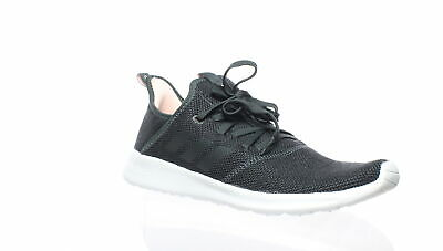ADIDAS WOMENS CLOUDFOAM Pure Black Running Shoes Size 6 (194881)