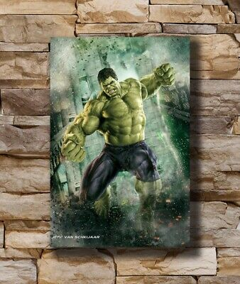 Hot Hulk - The Avengers Marvel Superheroes Movie New Art Poster 24x36 T-1535