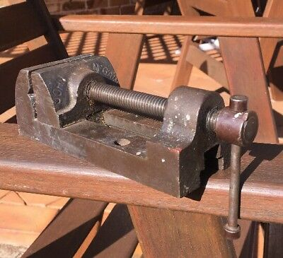 Antique Vintage Extremely Rare John McGain NSW Machine Mechanics Vice Vise Tool