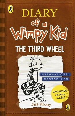 The Third Wheel (Diary of a Wimpy Kid book 7) by Jeff Kinney (Paperback /