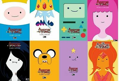 ADVENTURE TIME: The Complete Series 1-8 (DVD Set) BRAND NEW! FREE SHIPPING!