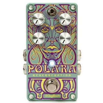 DigiTech Polara Stereo Reverb Guitar FX Effects Pedal New with Warranty