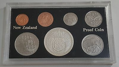 New Zealand 1979 Proof Set - Sterling Silver  $1 - 16000 Sets Issued