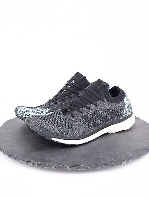 7704c6f94d34 Adidas Mens Adizero Prime Boost Running Shoes Black Blue Size 10 BB6564