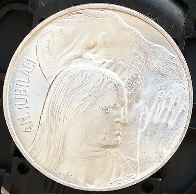 1975 Vatican City 500 Lire KM# 131 Silver MS UNC  Forgiveness Coin Holy Year