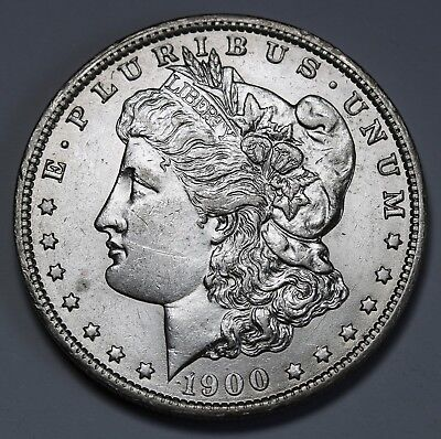 1900 O US Morgan Dollar $1 KM# 110 AU/UNC   Coin +Lustre