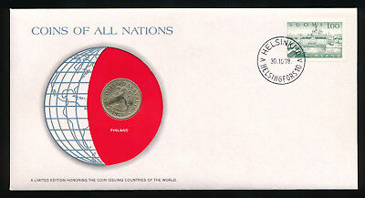 Coins of All Nations Finland 20 pennia 1978 UNC