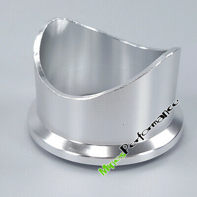 Aluminum Weld On Flange adaptor Pipe for Tial Q50 50mm BOV Blow Off Valve V Band