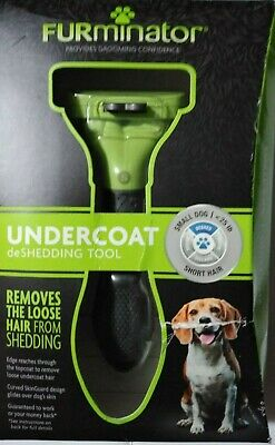 Furminator Short Hair deShedding Tool for Small Dogs by Furminator