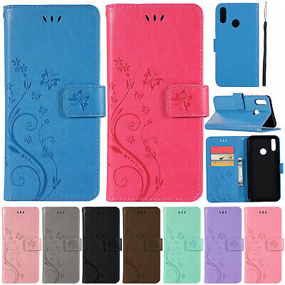 For Huawei P Smart 2019/P20 P9 P8 Lite 3E 4 Flip Leather Wallet Stand Case Cover