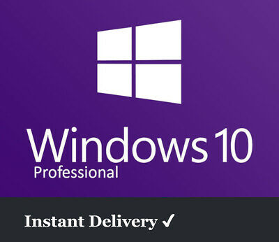 Microsoft Windows 10 Pro Key | 1 PC | 32Bit 64Bit | Download | Vollversion