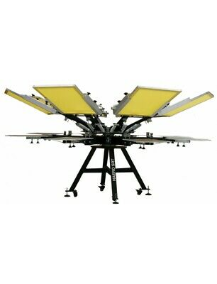 Screen Printing Machine 8 Colors HAERO SRT Serispeed
