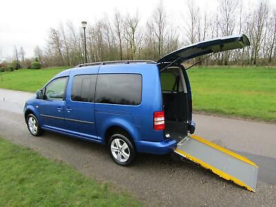 2014 14 Volkswagen Caddy Maxi Life1.6 Tdi WHEELCHAIR ACCESSIBLE DISABLED VEHICLE