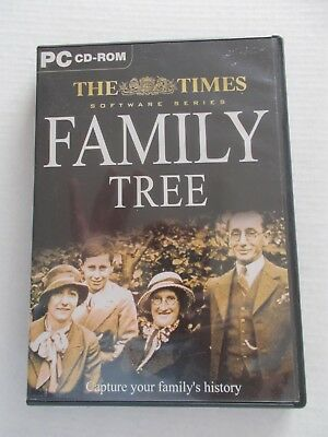 - Family Tree [Pc Cd-Rom] Capture Your Family's History [Brand New] The Times