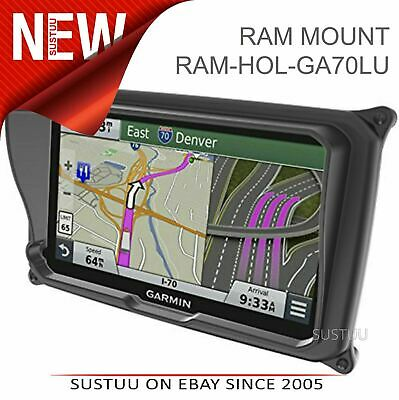 Ram Mount Locking Case & Sun Visor│Cover For Garmin Dezl 770LMT-D GPS / Sat Nav