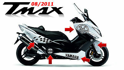 KIT adesivi scooter Yamaha TMAX T-MAX T MAX 2011 500 stickers moto racing tuning