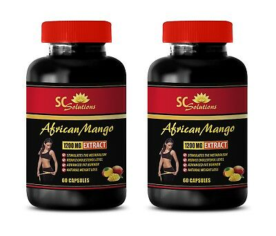 fat separator - AFRICAN MANGO 1200MG - african mango extract cleanse - 2 Bottles
