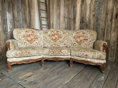 Vintage French Louis XV Style Sofa Delivery available.