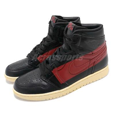 sale retailer b9977 2ef3b Nike Air Jordan 1 Retro High OG Defiant Couture Black Red Bred Banned BQ6682 -006