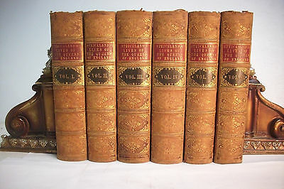1851 LIVES OF THE QUEENS OF ENGLAND *12 Volumes in 6*Great Britain*History
