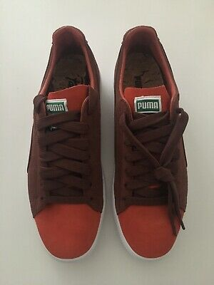 separation shoes aa2c9 3836e PATTA X PUMA - Clyde - Orange/Brown - UK 8.5 / US 9.5