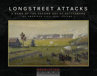 Longstreet Attacks (Boxed Edition) Revolution Games