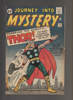 Journey into Mystery # 89  Battle the Forces of Evil !  grade 3.5  scarce book !