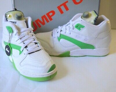 5af24c06fe1 New Reebok TRON Court Victory Pump Glow in the Dark White Green Black Rare