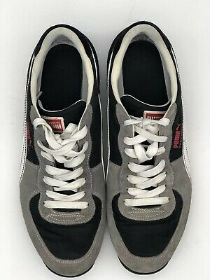 2067ff41c25a Puma Easy Rider III Womens Athletic Driving Shoes Size 9 Gray  Black  White