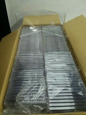 100 Clear Cd Jewel Cases.