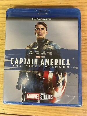 Captain America: The First Avenger Blu-ray New but NO Digital Read Description