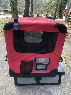 """NATURES MIRACLE 30"""" PORT-A-CRATE, portable, up to 40 lb pet, folds flat, vents"""