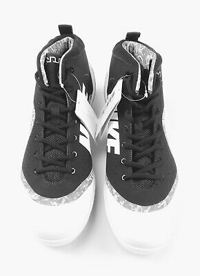 promo code 7ebca 715ae New Nike Force Zoom Trout 4 Baseball Cleat Men s US Size 11 Black White  917837