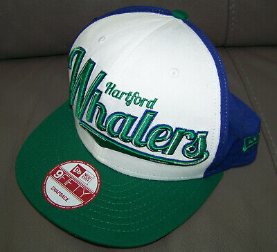 New Era 9Fifty Hartford Whalers Hat/Cap Vintage Hockey NHL in Great used cond.