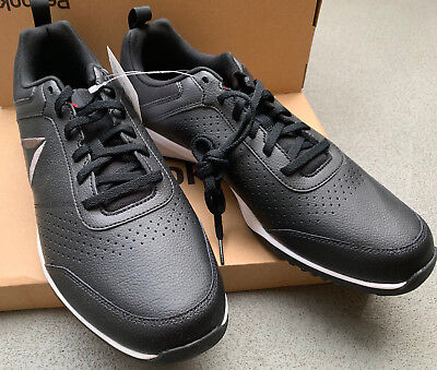 d448a93a4eb9c3 NEW Reebok Men s CXT Athletic Shoes Training Sneakers Black Leather Size 12