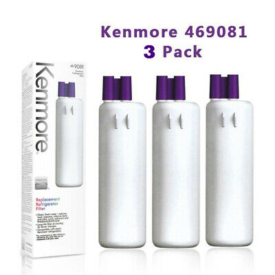 3pack 9081 Kenmore 469081 Replacement Refrigerator Water Filter by Kenmore
