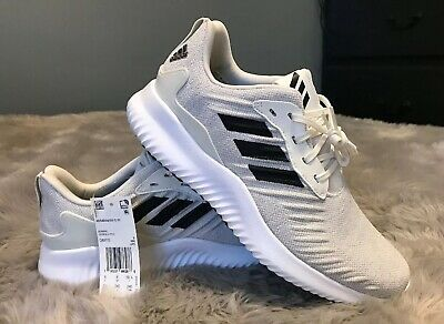 bdd517cfb NWT Adidas Mens Alphabounce rc m Low Top Lace Up White Core Black White