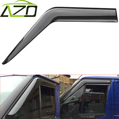 FORD TRANSIT MK6/MK7 - 2000 to 2014  WIND & RAIN & SMOKE DEFLECTOR *UK Seller*