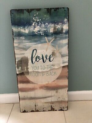 Timber Beach Sign and Photo Frame