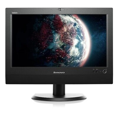 """Lenovo ThinkCentre M72z i5 3470 3,2GHz  4GB 250GB 20"""" All In One Wlan Win 10 Pro"""