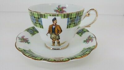 Royal Standard BONNIE SCOTLAND fine porcelain Tea Cup / Saucer set CLAN MORRISON