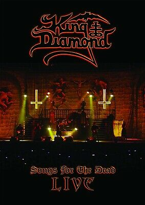 King Diamond Songs For The Dead Live Japan 2 Dvd + Cd Edition Ward Record 2019