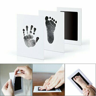 Baby Paw Print Pad Foot Photo Frame Touch Ink Pad Baby Items Souvenir Gift &H