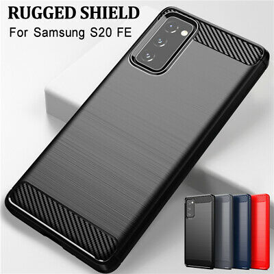 For Samsung Galaxy A50 A70 A40 A30 A20 A10E New Carbon Fiber Soft TPU Case Cover