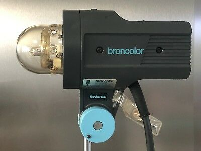 Broncolor Flashman Lamp Head 1600J Compatible with all Packs
