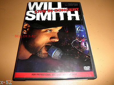 WILL SMITH fresh prince DVD LIVE in CONCERT with DJ Jazzy Jeff Mary J BLige