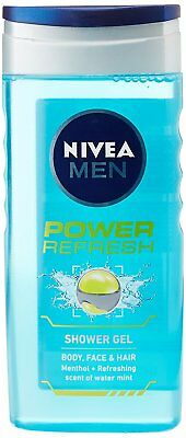Nivea Power Refresh Shower Gel For Men Extra Burst of Freshness - 250ml