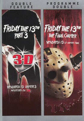 Friday The 13Th: Part 3 (3-D) / Part 4 (The Fi *new Dvd
