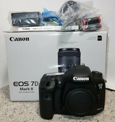 Canon EOS 7D Mark II 20.2MP Digital USA (Body Only)-(DEMO)
