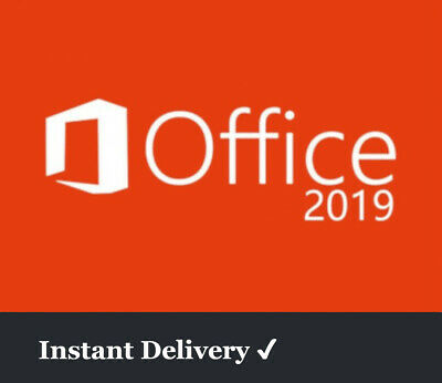 Microsoft Office 2019 Pro Key | 1 PC | 32Bit 64Bit | Download | Vollversion